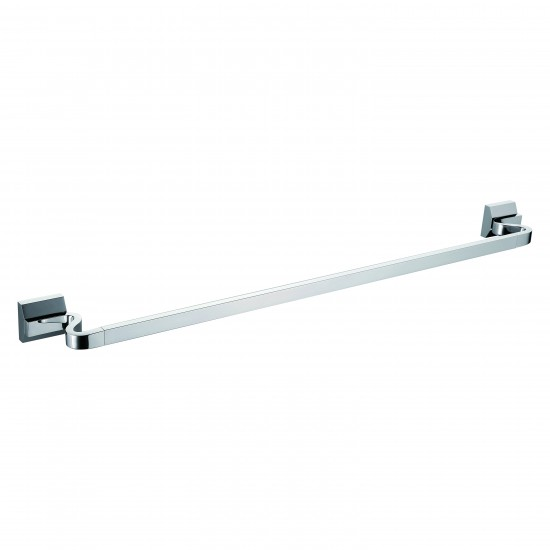 24 Single Towel Bar – Chrome – BA02 206 01