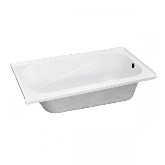 """BATH TUB """"AMALFI"""" 60"""" x 32"""" x 18"""", ATAM-6032-WH-RT"""