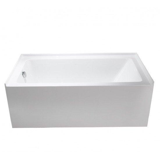 "BATH TUB ""VENETTO"" 60"" x 32"" x 21"" ATVE-6032-WH-LT"