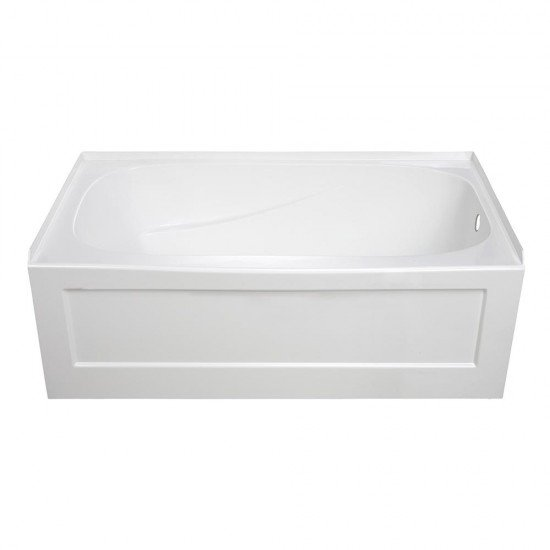 "BATH TUB ""BARI"" 60"" x 32"" x 21"" ST3260-WH-RT"