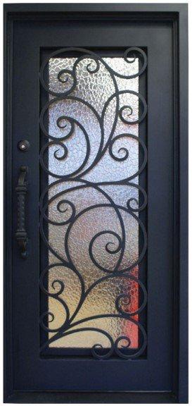 Wrought Iron Exterior Doors