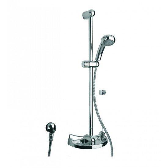 "LaToscana 50124 Water Harmony 31 3/4"" Wall Mount Handshower and Slide Bar Kit with Flexible Hose"