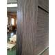 Ville Venice Grey Oak Wood Veneer Modern Interior Door with Glass
