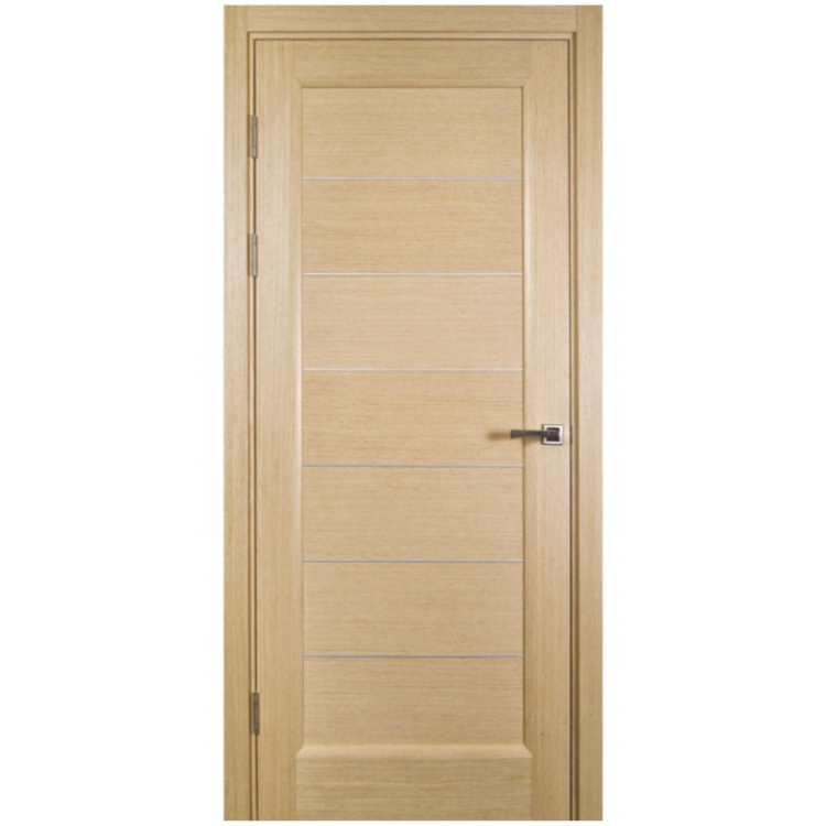 Ville Lagoon White Oak Wood Veneer Modern Interior Door