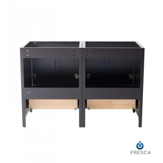 """Fresca FCB20-2424ES Oxford 48"""" Espresso Traditional Double Sink Bathroom Cabinets"""