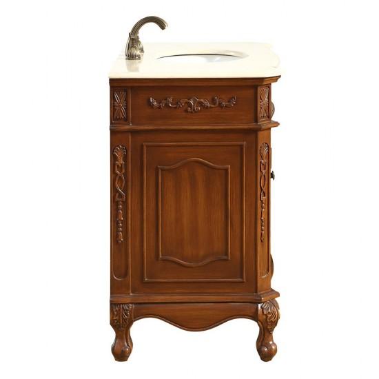 Elegant Decor VF10536BR Danville 36 in. Single Bathroom Vanity set in Brown