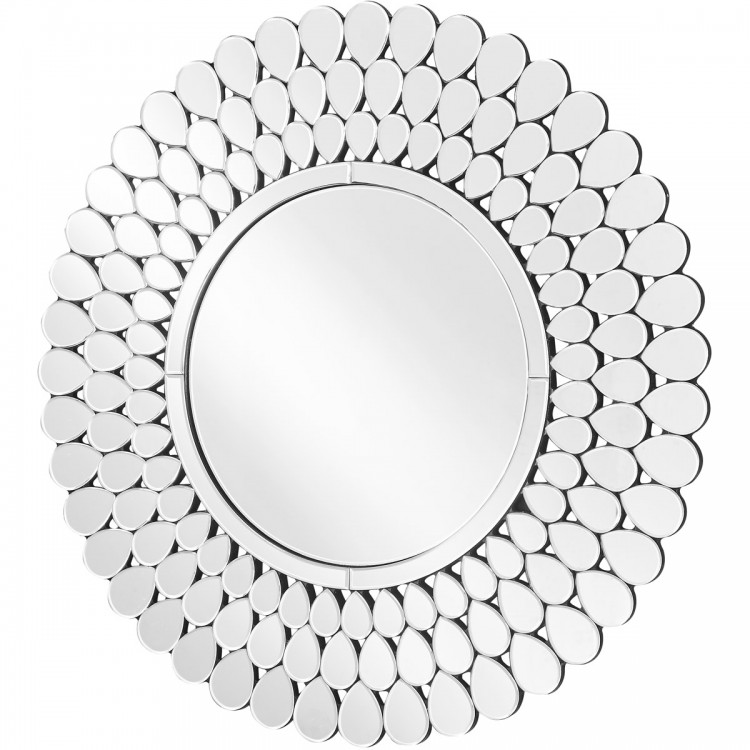 40 inch mirror wayfair elegant lighting mr9155 sparkle 40 inch clear wall mirror home decor