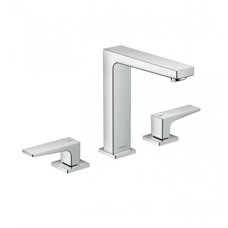 Hansgrohe 32517 Metropol 6 1 2 Widespread Bathroom Sink Faucet With Pop Up Embly