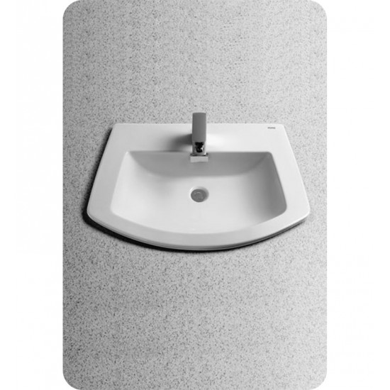 TOTO LT963 Soirée® Self-Rimming Lavatory - ADA