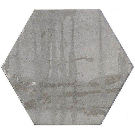 Victorian Pewter (Hexagon Porcelain)