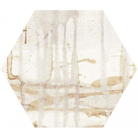 Aged Elegance (Hexagon Porcelain)