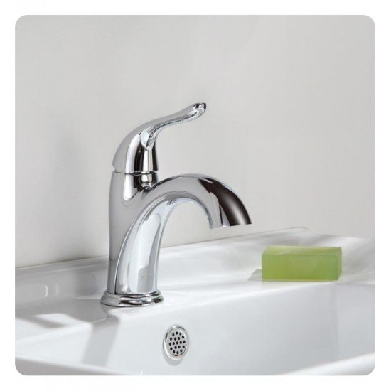 "Kraus FUS-1011 Arcus 7 5/8"" 1.5 GPM Single Hole Bathroom Sink Faucet"