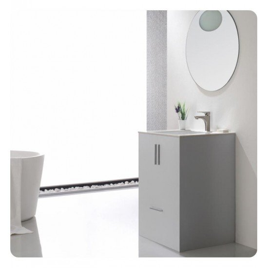 "Kraus FUS-13901 Aquila 6 1/8"" Single Handle Vessel Bathroom Sink Faucet with Lift Rod Drain"