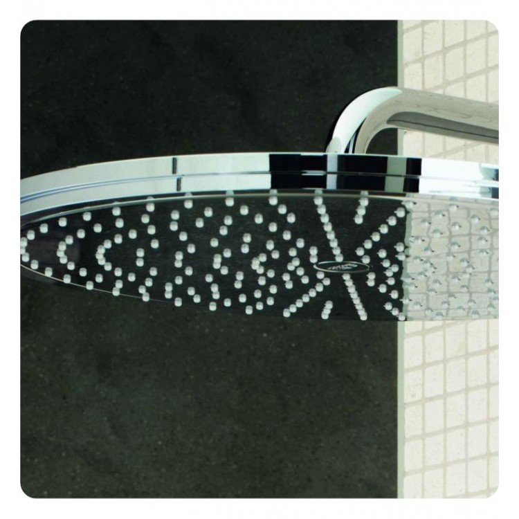 Grohe 27478000 Rainshower 12 1 4 Wall Ceiling Mount Bathroom Shower Head In Chrome