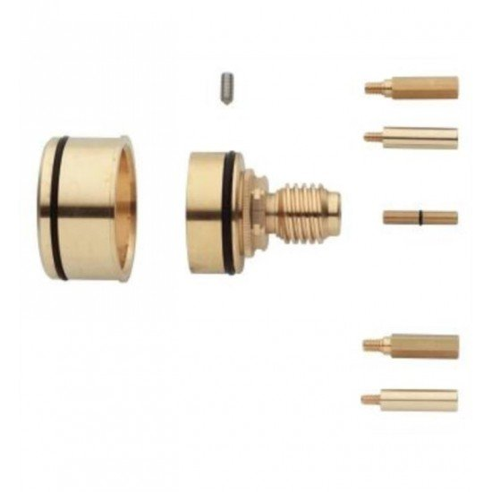 """Grohe 47328000 3"""" Thermostatic Extension Kit in Brass"""
