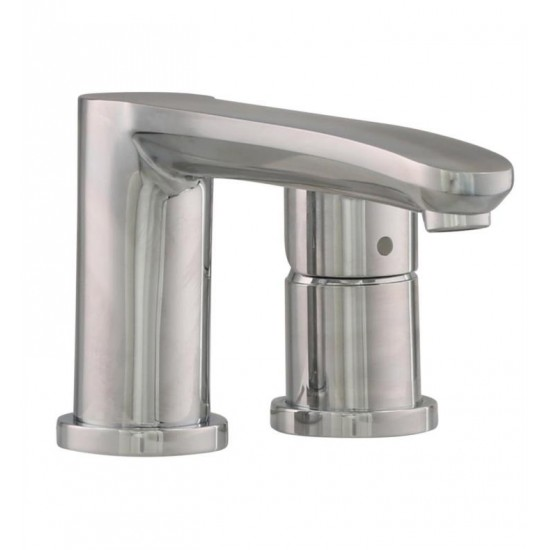 """Grohe 23048003 Eurostyle Cosmopolitan 8 3/4"""" Four Hole Widespread/Deck Mounted Roman Tub Filler with Handshower in Chrome"""