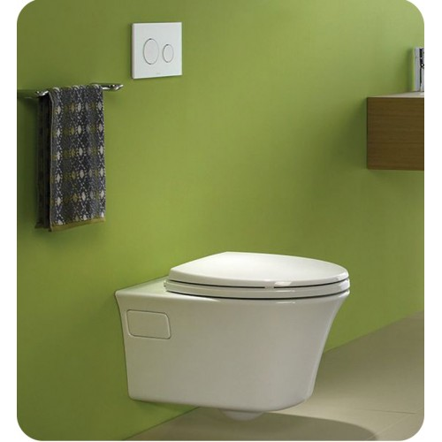 TOTO CWT486MFG 101 Maris Wall Hung One Piece Elongated Toilet Universal Height With 16 GPF