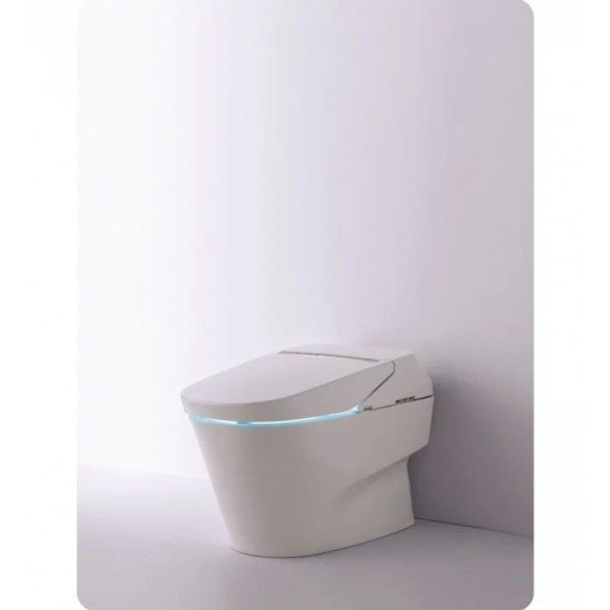TOTO MS993CUMFX#01 Neorest 750H One-Piece Elongated Toilet with 1.0 GPF & 0.8 GPF Dual Flush and Actlight